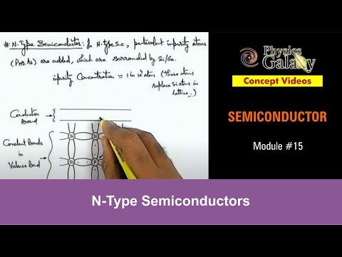 15. Physics | Semiconductor & its Types | N-Type Semiconductors | by Ashish Arora