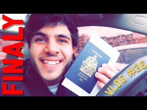Got the CANADIAN🇨🇦 Passport!