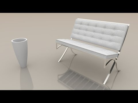 Sketchup Tutorial In Hindi : How To Make A Chair In Sketchup Part - 5