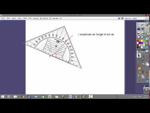 Mesurer l'amplitude d'un angle