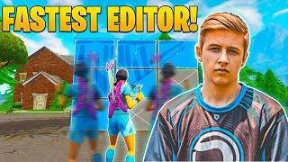 Meet Symfuhny, The Fastest Editor in Fortnite