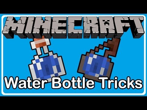Minecraft 1.9: NEW WATER BOTTLE TRICKS!