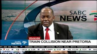 BREAKING NEWS: Two trains have collided in Pretoria