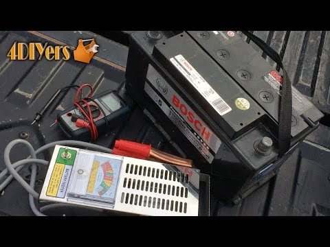 DIY: How to Test a Vehicle's Battery