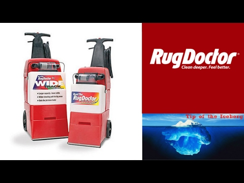 Rug Doctor Carpet Cleaner with Upholstery Attachment - Great Results