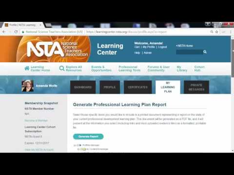 How to Make a Professional Learning Plan