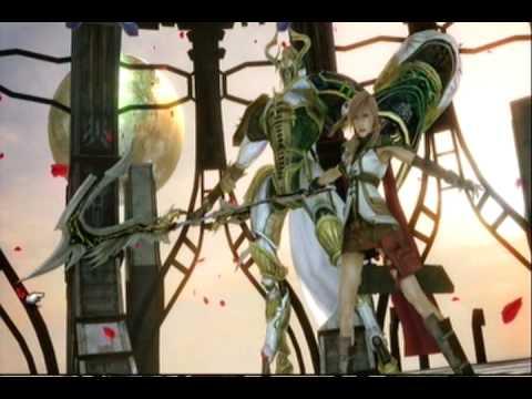 Final Fantasy 13 Summons:  Lightnings Eidolon (Odin)