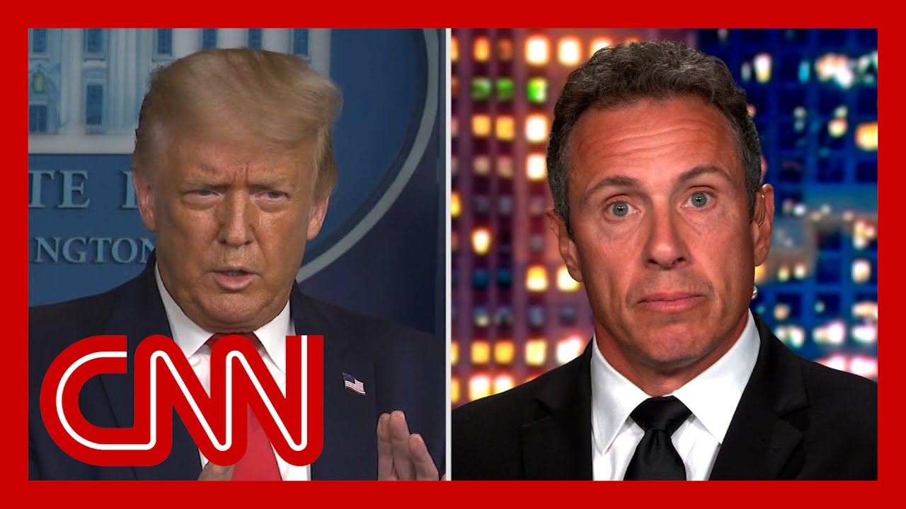 Chris Cuomo reacts to Trump comment 'nobody likes me'