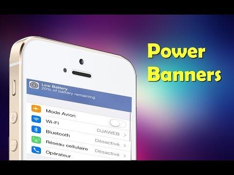 iOS 7 tweaks POWER BANNERS
