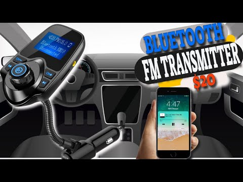 FM Transmitter, Car Bluetooth Receiever Testing, Review and Unboxing