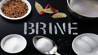 Quick And Easy Brine For Chicken Or Pork