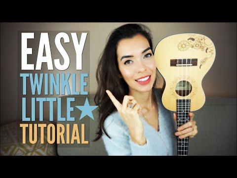 EASY Twinkle Twinkle Little Star for Ukulele (Tutorial)
