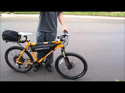 36mph 110 Mile Range Lithium Powered Ebike Commuter 3000w