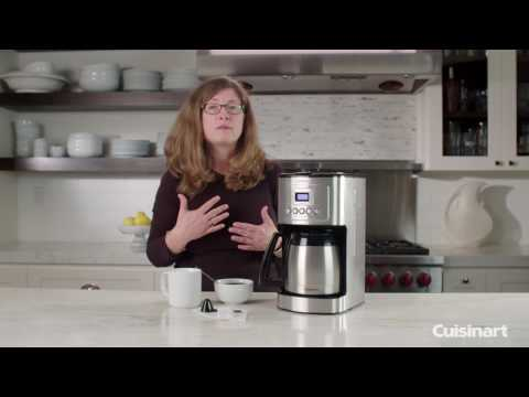 12 Cup Programmable Thermal Coffeemaker Demo (DCC-3400)