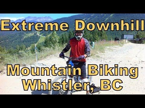 Extreme Mountain Biking - Whistler, BC