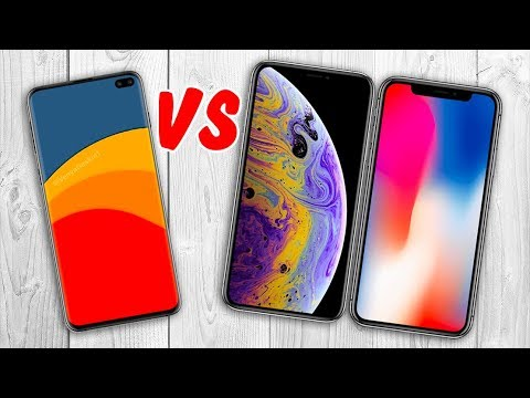 Galaxy S10 Plus vs iPhone XS vs iPhone X - Shocking Results !