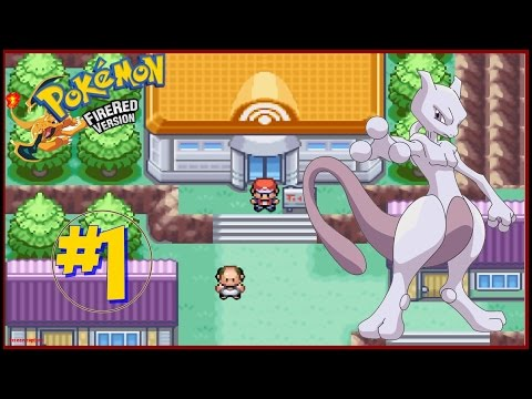 Como capturar o mewtwo no pokemon fire red (parte 1)