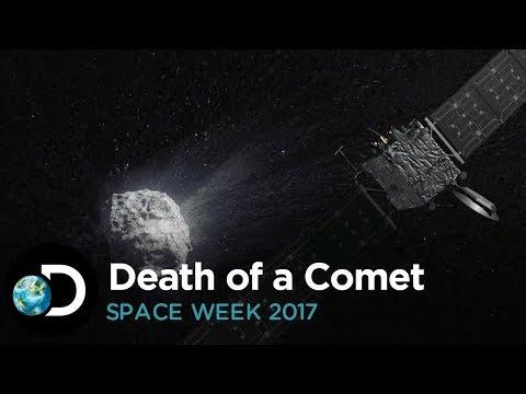 Death of A Comet | Space Week 2017