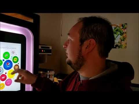 Get a Free Soda From Spudz n Stuff's Amazing New Soda Machine!
