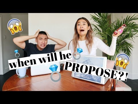 WHEN WILL HE PROPOSE? | Engagement Ring Challenge