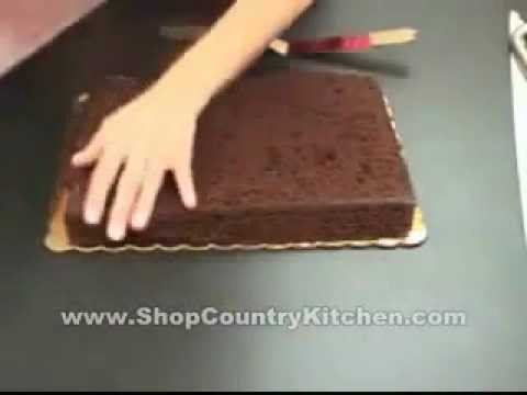 Filling a Sheet Cake   training video