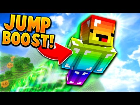 GIVING A PLAYER JUMP BOOST 1,000,000!! NO WAY... (Minecraft Trolling)