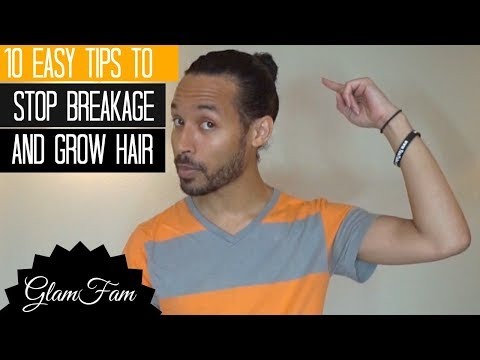 How to stop hair breakage | 10 simple tips!