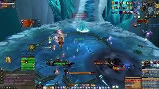 Availed vs  LK 10 Heroic - Disc priest solo heal PoV