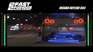 2 Fast 2 Furious: Engine Sounds - Nissan Skyline
