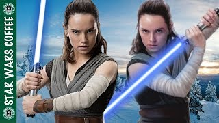 Daisy Ridley talks her Stunts, and Story in The Last Jedi!