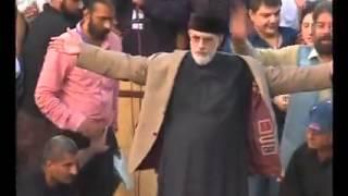 Tahir ul Qadri gets scared