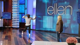 Ellen and tWitch Get Down in Their New 'Dos