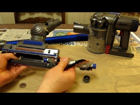 Dyson DC44 - Remove & clean the Brush Bar - An owners guide - Digital Slim Mk2 DC44 DC59 DC45 Animal