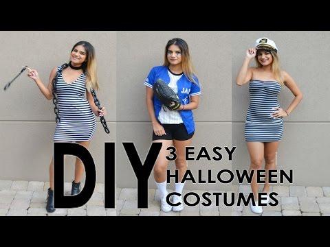 DIY - 3 Easy Halloween Costumes