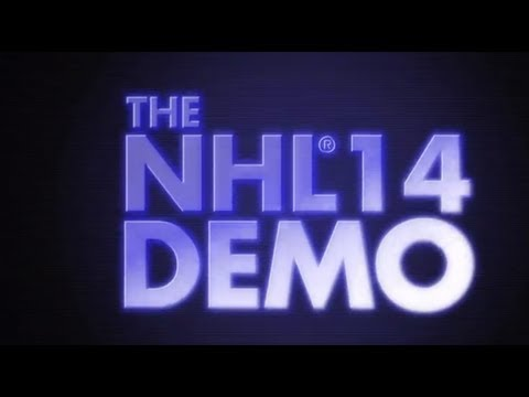 BEST NHL 14 DEMO GOAL! (YOU WILL BE AMAZED!)