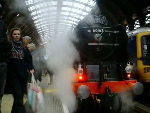 Tornado Steam Train at Paddington Station 5 of 5