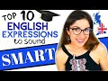 Download  10 ADVANCED English Expressions and Phrases to Sound SMART | Learn Advanced English Vocabulary! MP3,3GP,MP4