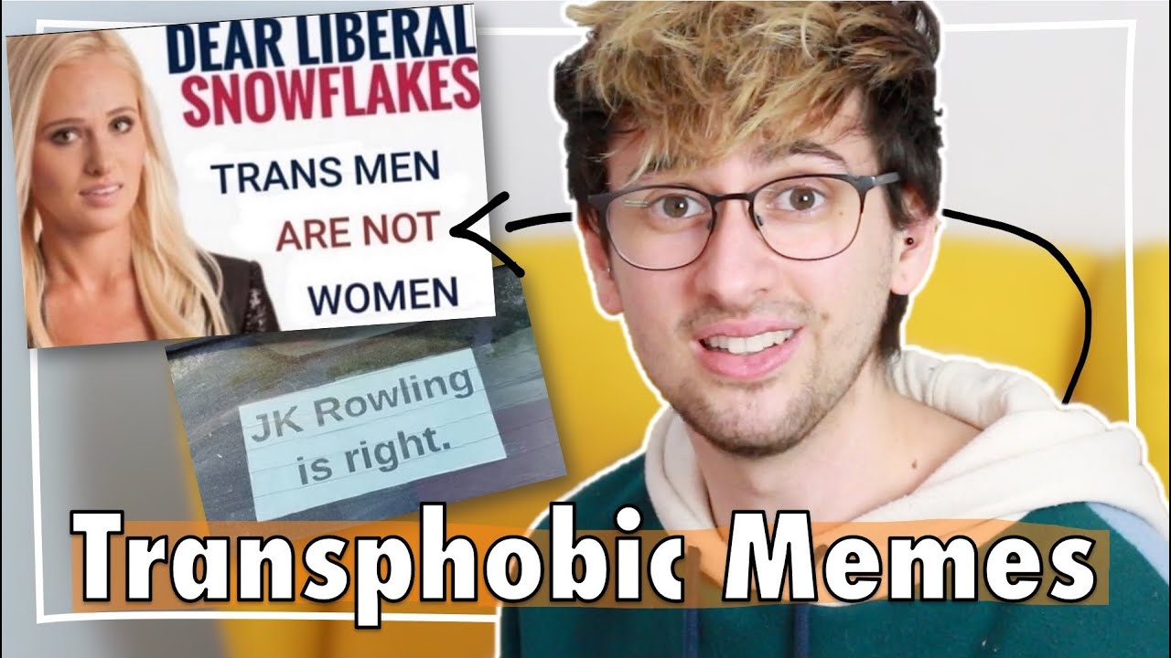 The Transphobes Can't Meme