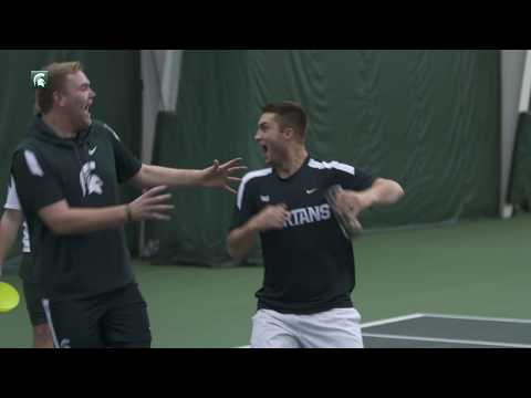 Michigan State Tennis- Mini Games