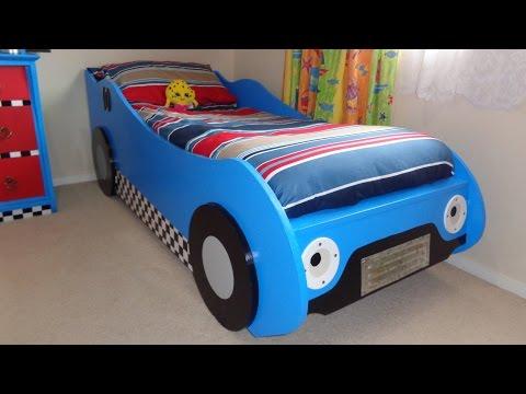 DIY Kids'  Racing Car Bed