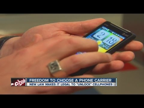 New law allows you to choose cell phones from different carriers