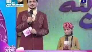 Touseef Raza Pakistani No....1 Child Naat Khwan (7th naat).avi