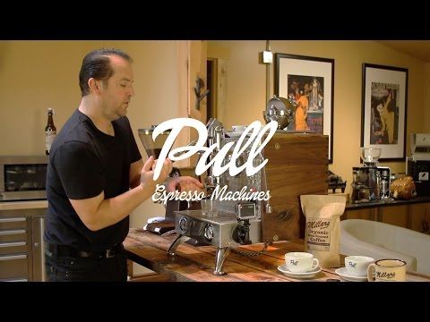 Pull Espresso Machines - How to Make a Shot