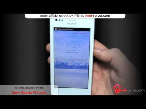Unlock Sony Xperia M by IMEI  C1905 [How unlock? Solve]