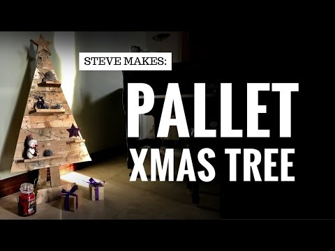 Steve Makes: A Pallet Xmas Tree