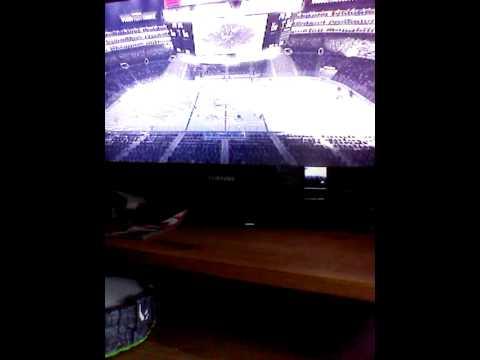NHL 14 goalie fight!! Quick vs Brodeur