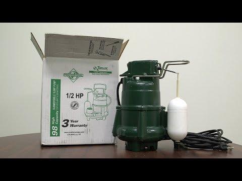 M98 Flow-Mate Automatic Cast Iron Effluent Sump Pump
