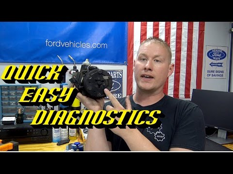 Ford A/C Quick Tips #5: Diagnosing a Weak A/C Compressor