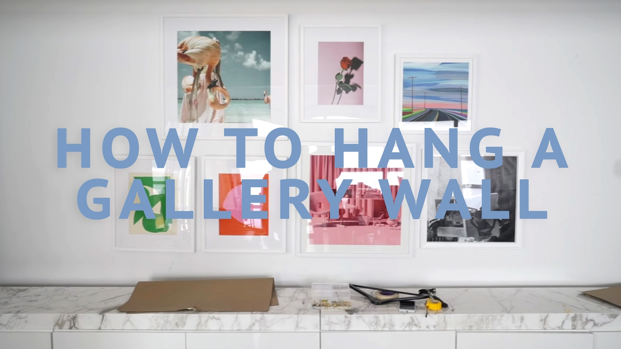 Gallery Wall Tutorial - OFFICE SNEAK PEAK | Song of Style