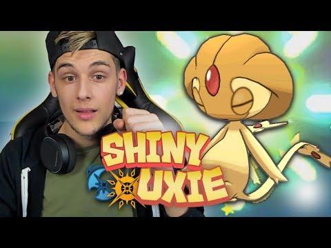 EPIC SHINY UXIE LIVE REACTION! Pokemon Ultra Sun And Ultra Moon Shiny Highlight